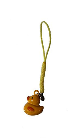 10 PC Mini Duck Bell On Strap
