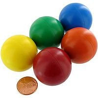 1 3/8 inches Jumbo Sized Magnetic Marbles Colorful Set Of 5