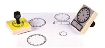 * STAMP LARGE CLOCK W/ NUMBERS