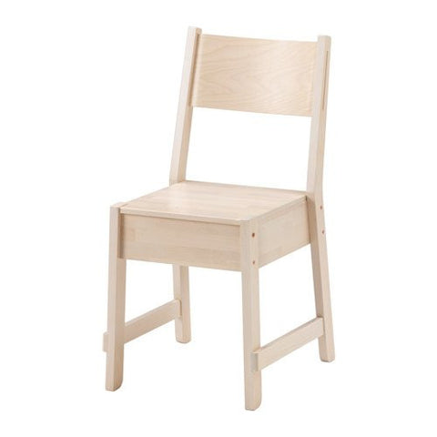 Ikea Chair, white birch 18210.231711.106