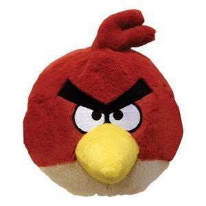 Angry Birds 4 Inch Mini Plush Toy Red Bird