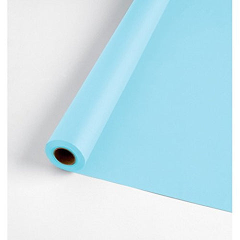 100' Table Roll Light Blue
