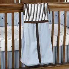 1 X BRANDON BLUE DIAPER STACKER by Royal Velvet Baby