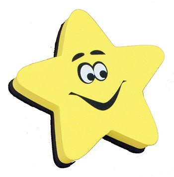 * MAGNETIC WHITEBOARD ERASER STAR