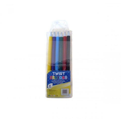 """Twist Crayons, Pack Of 6"""