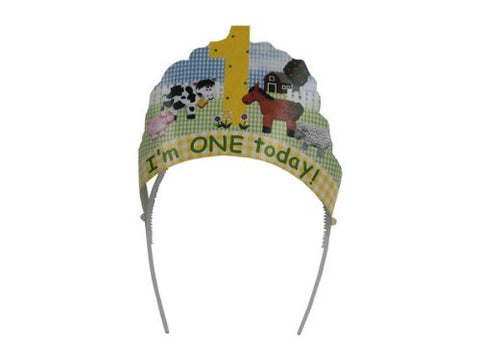 """I'm One Today"" head wear - Case of 48"