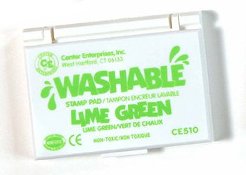* STAMP PAD WASHABLE LIME GREEN