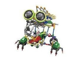 Alien robot figure Toy 399pcs Set, Battery Operated, Compare to Knex Toys, and Build a 3-D Robot Figure, That's Sturdy Enough To play with