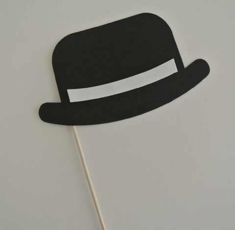 1 Pc Wedding Photo Booth Party Props Bowler Hat
