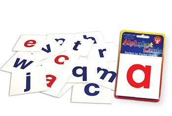 * ALPHABET CARDS A-Z LOWER CASE