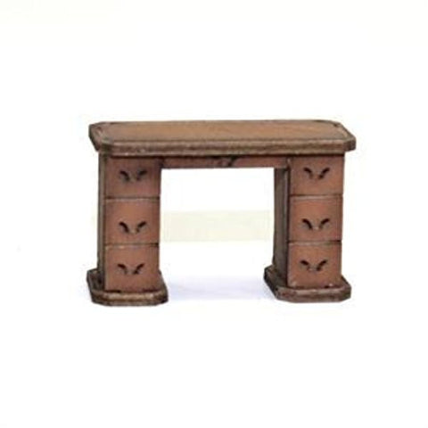 28mm Furniture: Light Wood Office Desk