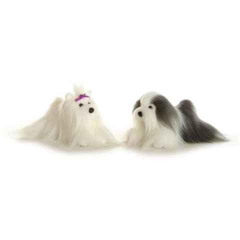 Aurora Plush Muffin Maltese Mini Flopsie 8""