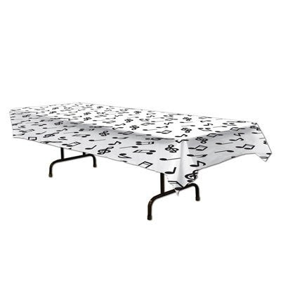 12- Musical Notes Tablecover