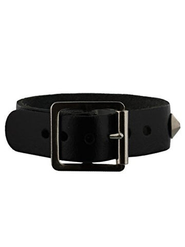 1 Row Conical Wristband Black
