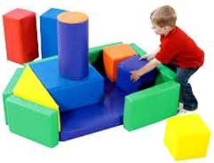 Children's Factory Cargo Ship Block Set