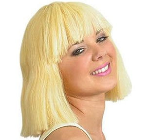 "12"" Dark Blonde Ladies Pageboy Wig"