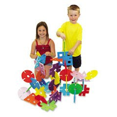 ** WonderFoam Giant Design Shapes, Assorted, 40 Pieces