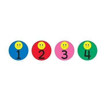 * 3IN SMILEY FACE DAYS CALENDAR CARDS