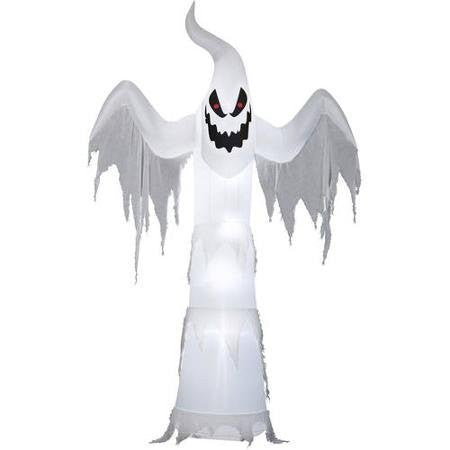 12' Tall Ghost Halloween Airblown Inflatable