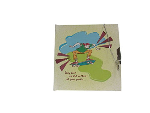 """Stay True to the Dreams of Your Youth"" Children's Diary with Lock and Two Keys- Great Diary for Children"