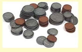* COINS ONLY FOR COINS IN A BANK 94PK