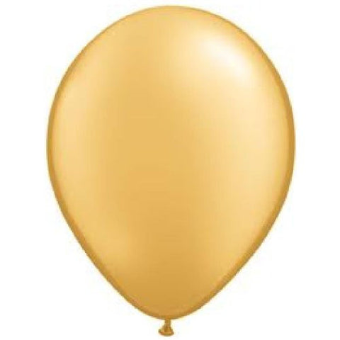 (12) GOLD LATEX BALLOONS birthday party supplies decorations wedding baby shower
