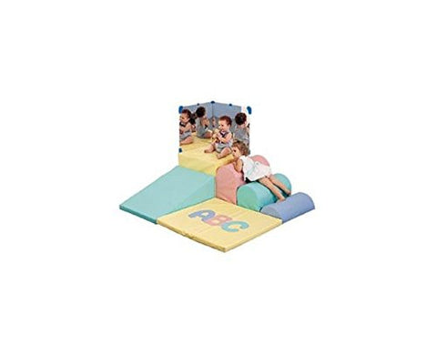 Children's Factory CF300-003P ABC Soft Mini Corner, Pastel (Colors may vary)