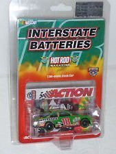 #18 BOBBY LABONTE INTERSTATE BATTERIES HOT ROD MAG. 1998 ACTION COLLECTIBLE 1/64