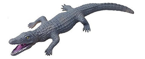 16 inch Crocodile Soft Plastic Aquatic Reptile with Sound Effects (Large)