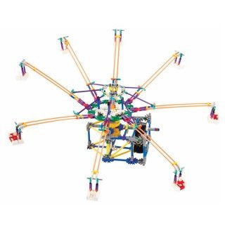 Amusement Park Octopus Swing Electronic Building Toy 512pcs Height 28 In. builds an unexceptionable amusement park by yourself! Compare to K'nex Building Toys