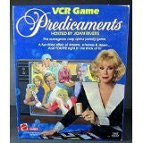 1986 Mattel Predicaments VCR Game TV Soap Opera Hosted by Joan Rivers by Matell