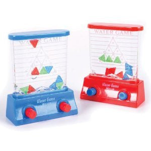 1 X Water Game - Triangles (Colors may vary - Red/Blue)