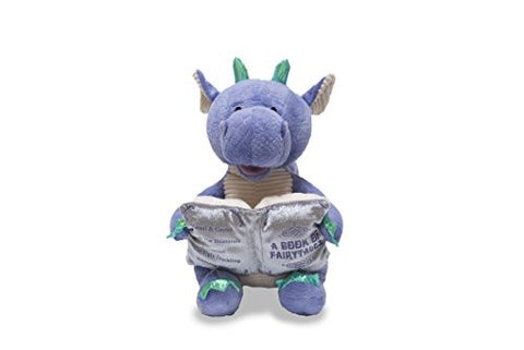 "12"" Dalton the Storytelling Dragon Recites 5 Fairy Tales Light Up Book"