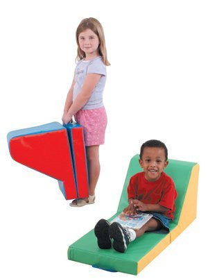 Children s Factory CF349-018 Cozy Time Loungers- Set of 2