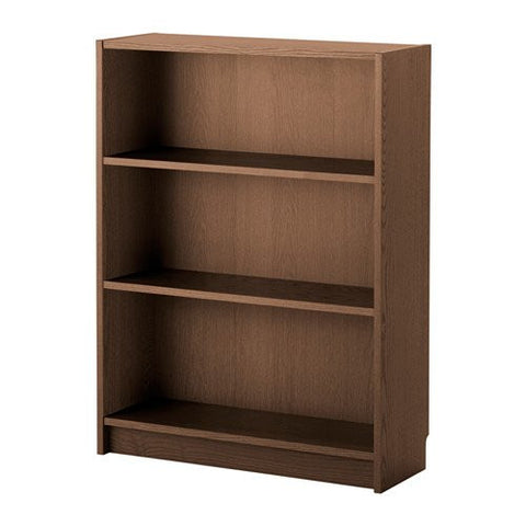 Ikea Bookcase, brown ash veneer 1628.81111.226