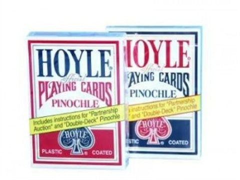 1 Deck Hoyle Pinochle Playing Cards