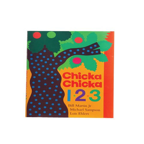 """Chicka Chicka 123"" Classic Children's Hardcover Book"