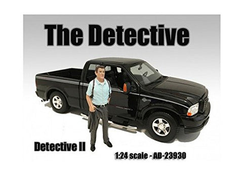"""The Detective #2"" Figure For 1:24 Scale Models by American Diorama 23930"