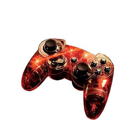 Afterglow Wireless Controller, Red - PlayStation 3 by PDP