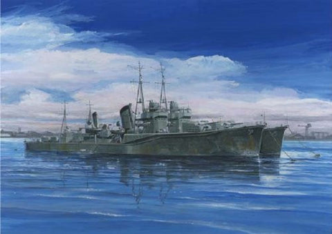 """Murasame"", ""shower"" two ships set 1/700 specialized series No.78 Japanese Navy destroyer Shiratsuyu type (japan import)"