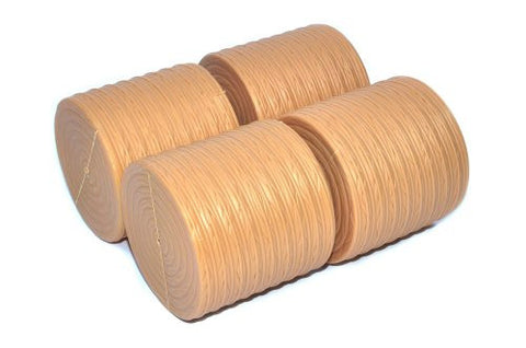 1/16 Pack of 4 Round Bales - Little Buster Toys