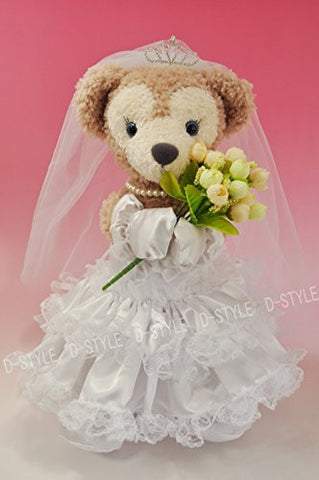 """Duffy style"" original TM S size 43cm Duffy Sherry Mae stuffed in perfect clothes TM wedding dress Princess style D272"