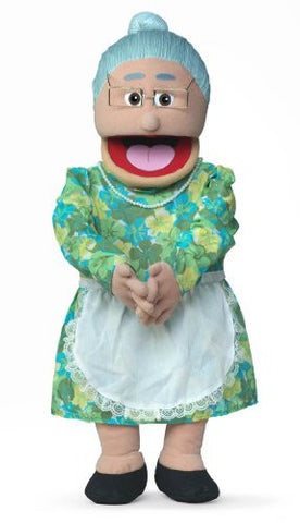 "30"" Granny, Hispanic Grandmother, Professional Performance Puppet with Removable Legs, Full or Half Body"