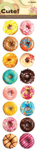 """Cute!"" Donut Stickers"
