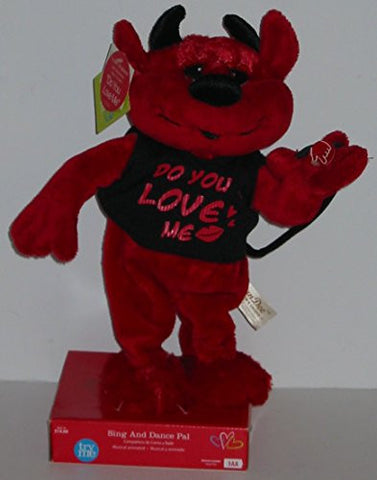 "13"" Plush ""Do You Love Me"" Singing Devil"