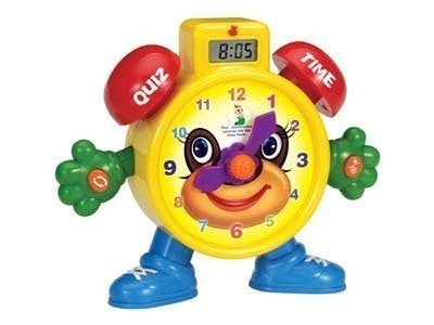 'Tell The Time' Electronic Learning Teach Time Clock Educational Toy for Kids