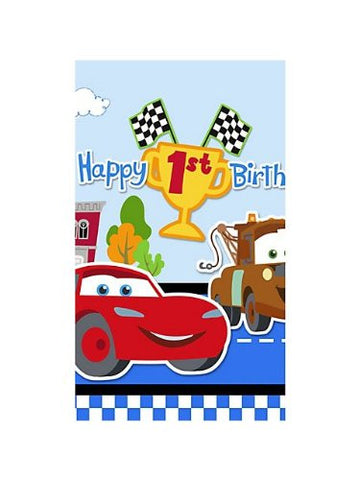 1st Birthday Champ Tablecover