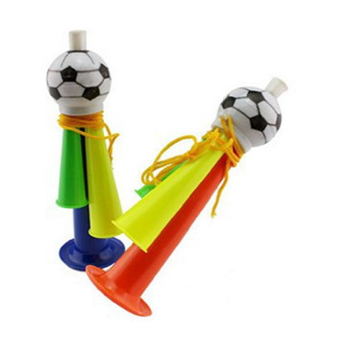 1 Pc Multi-color Stadium Fan Cheer Plastic Horn Bugle Vuvuzela Soccer Football Party Carnival Sports Games Toy Gift ---- Randomly Color