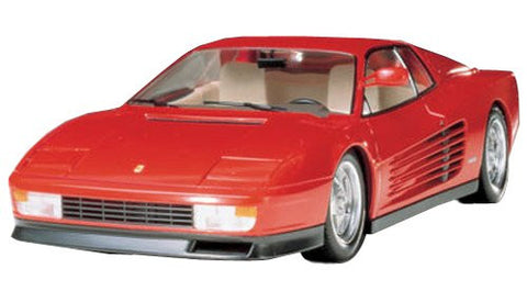 #24059 Tamiya Ferrari Testarossa 1/24 Scale Plastic Model Kit,Needs Assembly
