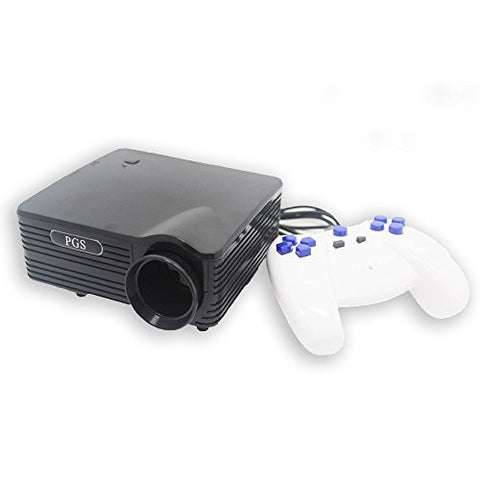 3 In 1 Plug and Play Projection Game System with 110 Preloaded Retro Style Games (Black)